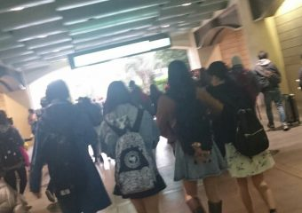 【欅坂46】平手×石森×土生×菅井でディズニーに行った模様!目撃情報が多々報告される。